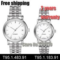T95.1.483.91 T95.1.183.91 fashion leisure lovers watch Luxury brands relogios masculino steel band quartz watch