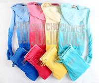 Hot New 2014 Brands Women's Tracksuits Suits sportswear jogging Suit Hoodies/Sweatshirts velvet lady Suits Size:S-XL #2175