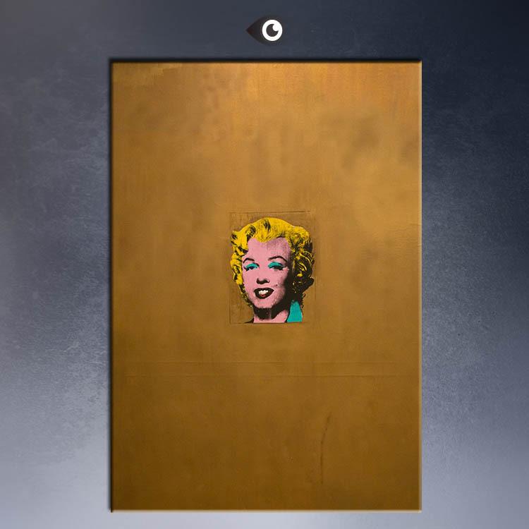 Marilyn Monroe 1962 Andy Warhol Gold Marilyn Monroe 1962 by