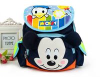 2015 New Baby Little Backpack Mickey Cartoon Boy Girl Shoulders Bags Lovely Kindergarten School Bag Black Navy Hot Sale 8235429