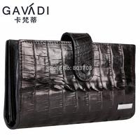 Free shipping 2014 alligator men's belt leather wallet long section of the new man bag clutch wallet tide
