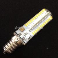 50pcs/lot DHL Free Shipping 360 degree LED E12 9W 110-140V SMD3014 LED Light Bulb Mini New Corn Light Small Warm white/White