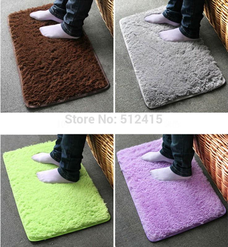 Mini rug Mats Pad For Doormat Absorbent Bath Mat Non-slip Mat In The Bathroom Room Living Room Toilet 40CMX60CM(China (Mainland))