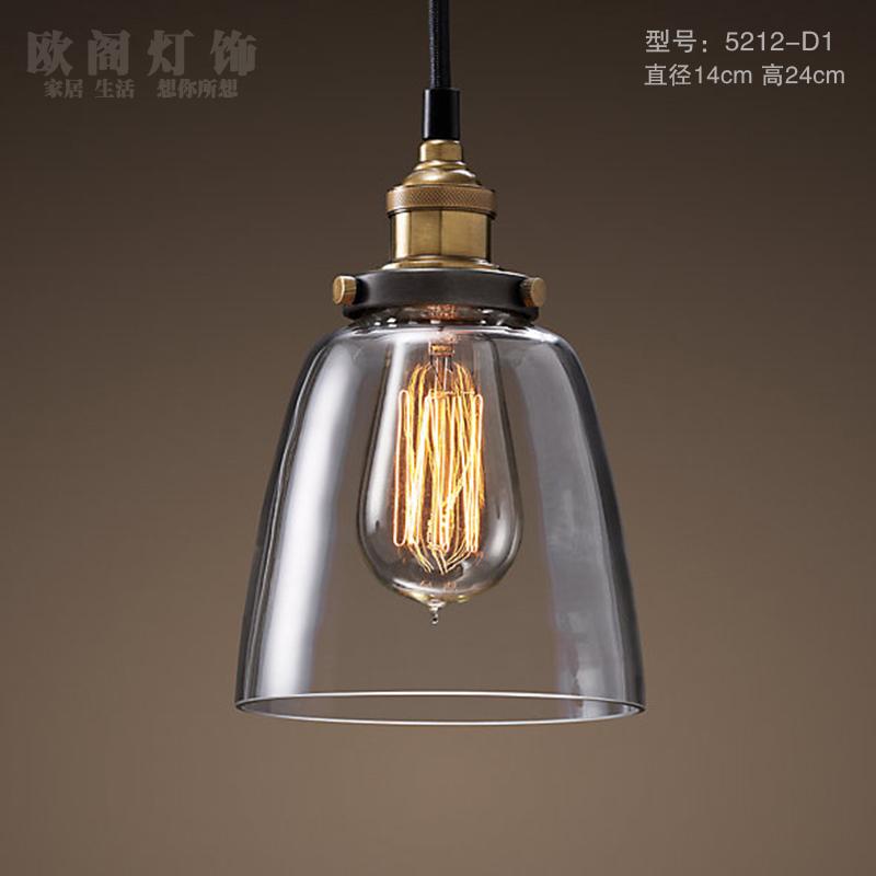 ... vetro creativo ikea ristorante Nordic lampade edison(China (Mainland