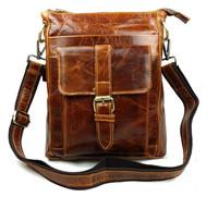 Fashion Men's Handbag Briefcase Shoulder Messenger Bag Men Horizontal Business Casual Laptop Bag 100% Genuine Cow Leather