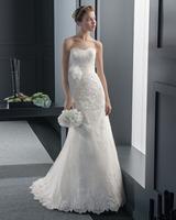 2015 New Fashion Sweetheart Lace Wedding Dresses Bridal Gowns Chapel Train Custom-made