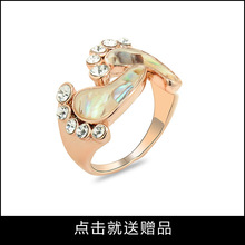 Women Rings Fashion Jewelry Rings creative ideas golden rings feet