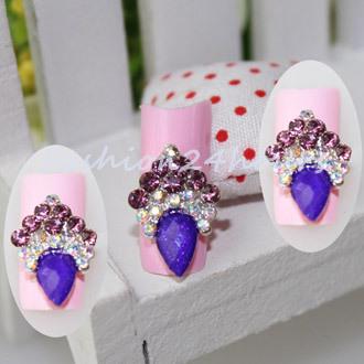 Стразы для ногтей Brand New 10pcs 3D DIY 0432
