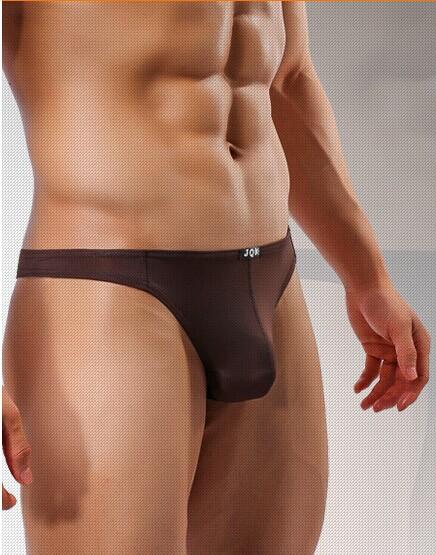 Super Soft Sexy Mens Thongs G String Ultra Thin Comfort Ice Silk Low Rise Man U Convex Tangas Underwear T Back High Quality G55(China (Mainland))