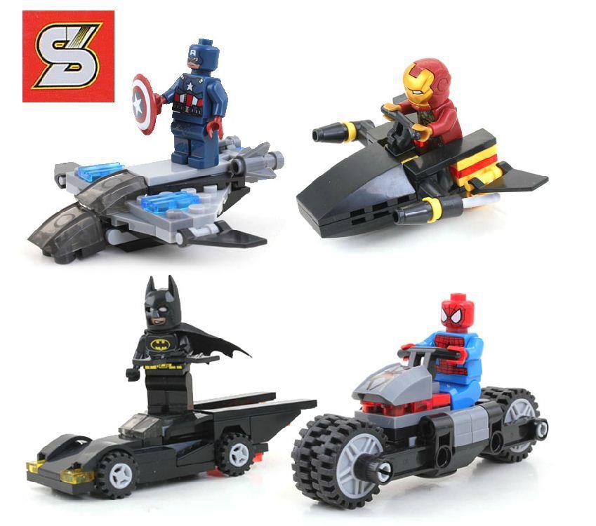 Детское лего S 4 Marvel DC & 4 , Lego SY181 детское лего gudi