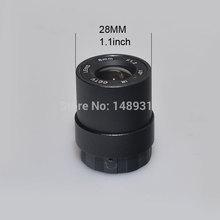"""1/3""""Il f1.2 cctv diaframma fisso ir a raggi infrarossi 4mm/6mm/8mm/12mm/16mm facoltativi cs lente per telecamera a circuito chiuso di sicurezza + obiettivo di base(China (Mainland))"""