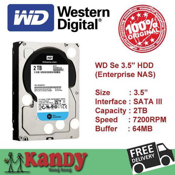 Western Digital WD Se Series 2TB SATA 3 III 3.5 inch desktop internal HDD hard disk drive Cache 64MB 7200rpm lot WD2000F9YZ(China (Mainland))