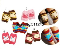 2015 Hot sale 1Pairs Baby Safety Knee Pad Kids Socks Children Short Kneepad Crawling Protector Free Shipping