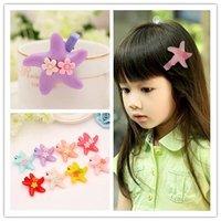 fashon new design star  children hair clips for children top sale fashion free shipping