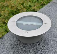 Free Shipping High Quality 3Leds Solar Buried LED Lamp Underground Light Garden Light