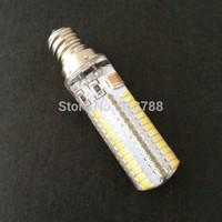 LED Bulb 110V/220V 9W LED Lamp SMD3014 LED Spotlight Warm White/White E12/E17 Corn Bulb Light Free Shipping 50pcs/lot