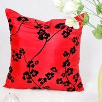 man made silk wedding chusion cover high quality invisible zipper printing sofa decor cushion cover 45*45cm zara home