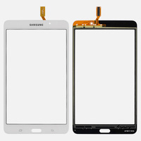 For Samsung Galaxy Tab 4 7.0 T230 New White Outter Touch Screen Panel Digitizer Glass Panel Lens Sensor Repair Replacement