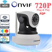 VStarcam C7824WIP HD 720P Wireless IP Camera wifi Night Vision Camera IP Network Camera CCTV WIFI P2P Onvif IP Camera