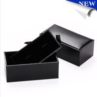 2015 Black Cufflinks Box For Men's Gift Cuff link Box