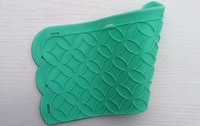 Cake Fondant Silicone Molds,Silicone Mat To Create Sugar Laces,Fondant Cake Decorating Molds Tools LC-101