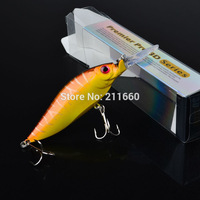 """1pc top Fishing Lures 4.2""""-10.66cm/0.466oz-13.22g fishing tackle Retail box package fishing bait 4# high carbon steel hook"""