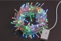 500pcs/lot wedding lights 50M 400LEDs 220V christmas string lights 28W 7colors led christmas lights 50m dn