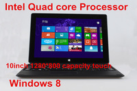 10inch 3G Ultrabook touch screen notebook  intel Quad core Windows 8.1  gamig computer camera WIFI HDMI free shipping