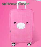 Free shipping travel luggage protective covers,nonwoven luggage cover, 20inch, 22inch,24inch, 26inch,28inch, pink
