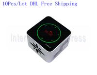 DHL Free shipping 10Pcs/Lot NFC bluetooth Mini Speaker touch screen Radio Music Player TF Card USB Portable Speaker KR8100