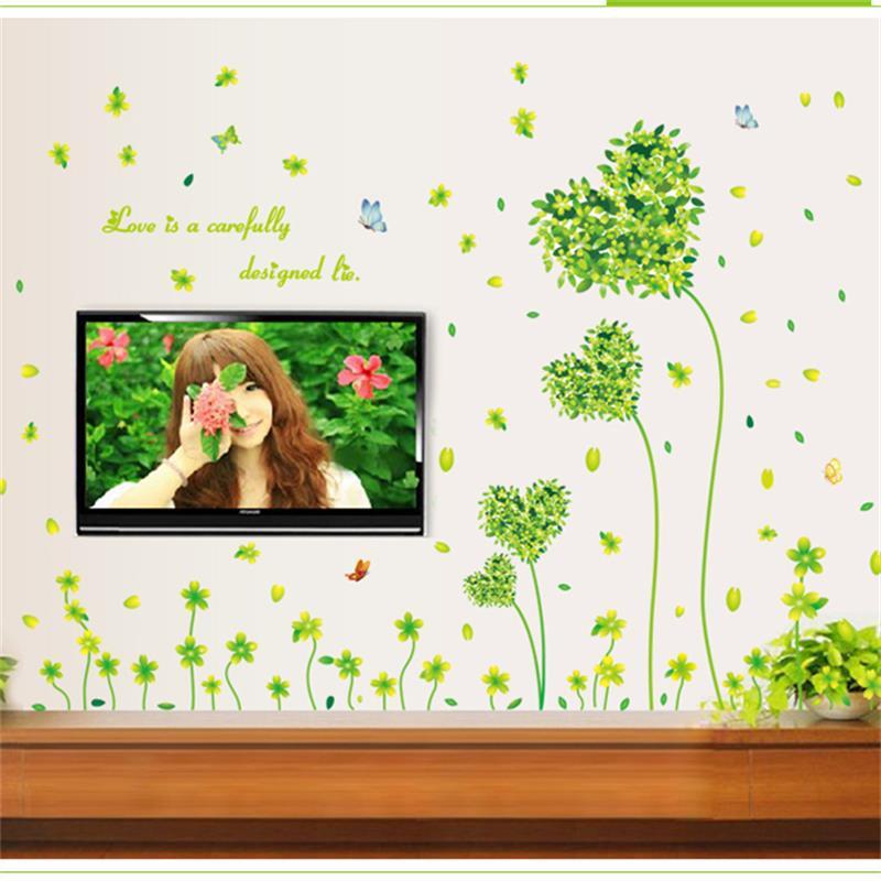 Livraison gratuite amovible decor d coratifs pour la for Decoration fenetre printemps