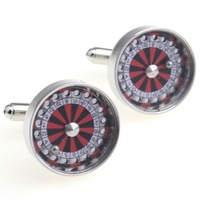 Lucky Roller Cufflink Cuff Link 15 Pairs Wholesale Free Shipping