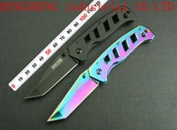 cold steel 2177 Survival Knife Hunting knives 5Cr13mov all steel Outdoor Camping tactical Folding blade knives Tools black/color