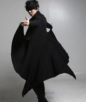 2015 men's clothing cloak cape long design cardigan sweatshirt costumes costume