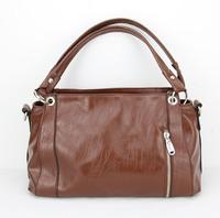 On Sale! 2015 New mango women leather handbags for fashion designer vintage Shoulder bags women messenger bag H023 darkbrown
