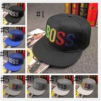 2015 new Fashion casual Baseball cap BOSS Men Outdoors leisure Snapback hats Women Hiphop caps Sun hat Casquette Free Shipping