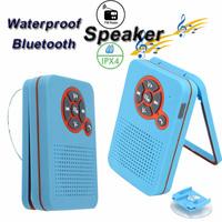Waterproof Speaker Shower Subwoofers Bluetooth Speakers BTS-23 Photo Frame Style Sucker FM Wireless Hands-free for Cellphone