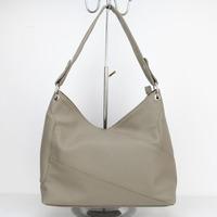 2015 women's pu  leather handbag fashion women's shoulder bag handbag large bag free shipping H057 gray