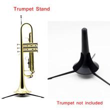 Portable Trumpet Stand Trumpet Tripod Trumpet Holder Metal Leg Detachable Design Professional Trumpet Accessories(China (Mainland))