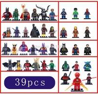 DHL Shipping 390PCS Marvel Avengers Guardians of the Galaxy Green Lantern green arrow deadpool Minifigures building Blocks Toys