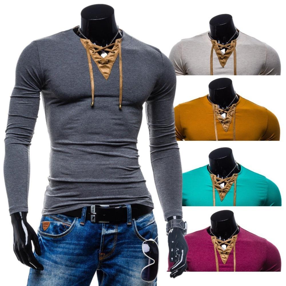 fashion unique contrast color design t shirt