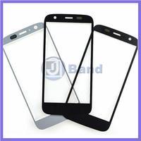 50pcs/lot For Motorola Moto G XT1032 XT1033 XT1036 Black White Front Outer Touch Screen Glass Lens Replacement Panel DHL