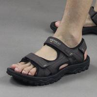Vietnam shoes leather sandals male sandals casual summer sandals men's male beach sandals