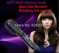 2015 new Hair Styler Roller Spin Air Brush Rotating Brush,Ceramic Hair Curler, 2 Inch Rotating Hair Brush,Hair styling tools