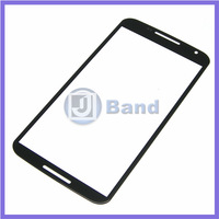 10pcs/lot Black Repair Part Replacement Outer Front Screen Glass Lens Panel For Motorola Moto G2 XT1063 XT1068 XT1069