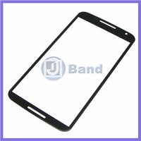 10pcs/lot Black Repair Part Replacement Outer Front Screen Glass Lens Panel For Motorola Moto G2 XT1063 XT1068 XT1069
