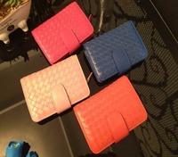 Brand Designer Classical Spitfire Sheepskin Women Wallets MINI Genuine Leather Thread Zipper&Hasp Lady Purses/Money Cilps