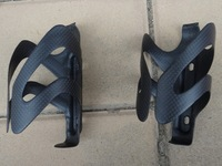 New Carbon Matt Bike water Bottle cage Holder for MTB Mountain Road Cyclocross TT bicycle - 2 Pcs  ( CG023 )