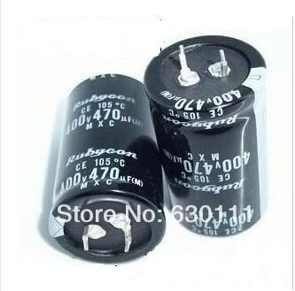 5PCS 470UF 400V 35*50 DIP Aluminum electrolytic capacitor 400V 470UF FREE SHIPPING(China (Mainland))