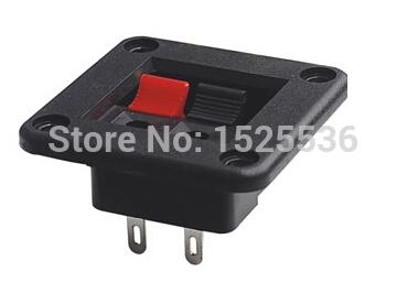 WP2-5 2 Position Terminal block speaker wiring clip terminal block(China (Mainland))